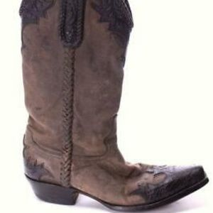 old gringo western boots cowboy cowgirl 7.5 D